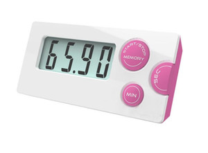 New fashion Countdown Timer 99 minute 59 seconds LCD Digital Lab Kitchen Mini Timer Relay Digital LCD Timer