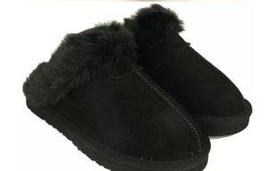 2014 nuovo marchio Australia Classic donne uomini in pelle di mucca neve pantofole per adulti US5-13 Borsa Logo rosa cioccolato di castagno sabbia