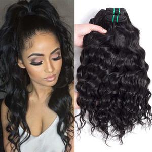 Offres quotidiennes Les plus populaires En Gros Extensions de Cheveux Vague d'eau de Cheveux Humains Weave Bundles Brésilienne Péruvienne Big Bouclés Vierge Cheveux Bundle Offres