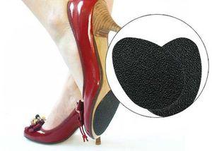 Anti-slip antiscivolo scarpe stuoia tacco alto suola in gomma pastiglie cuscino antiscivolo sottopiede tallone adesivi tacco alto