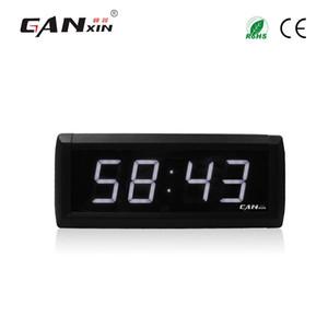 """[Ganxin] 1.8 """"4 cifre Led Alarm Clock personalizzato di alta qualità Indoor 7 Segment Clock con funzione cronometro"""
