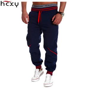ropa al por mayor-HCXY informal comercio exterior para hombre de los hombres tramo de estilo casual de Europa y América del harem de los pantalones de costura
