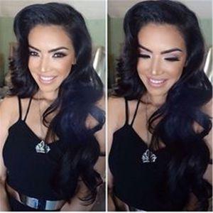 Норка бразильские волосы 3 Связки Body Wave перуанский малазийский индийских человеческих волос Weave Необработанные Дешевые волос Бесплатная доставка Human