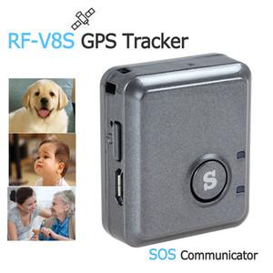RF-V8S High Efficiency Ouvir remoto GPS Device Tracker com SOS Communicator Car Tracker GPS rastreamento em tempo real Locator ACA_122 Dispositivo