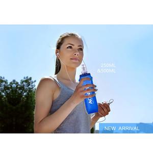 AONIJIE 250/500 ML Acampar Al Aire Libre Senderismo Niza Soft Flask Deportes Ciclismo Botella de Hidratación de Agua Corriendo