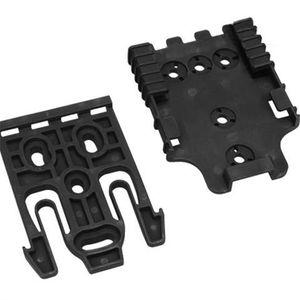 Safariland Quick Lock System Holster QLS Kit BK / DE Envío gratis