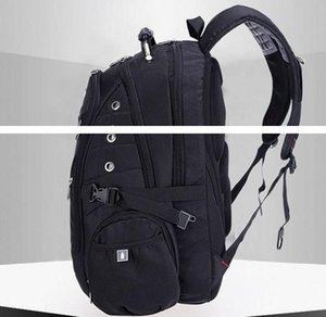 Toptan-En kaliteli İsviçre Çok Fonksiyonlu laptop çantası Sırt Çantası 15.6 inç dizüstü Schoolbag Seyahat Çantaları için