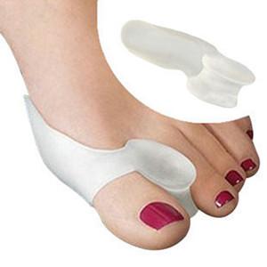 Macio Joanete Toe Toe Straightener Toe Separação Toe Gel Separadores Facilita a Dor Nos Pés Cuidados Com Os pés Cuidados Com Os Pés Ferramenta Polegar Valgo