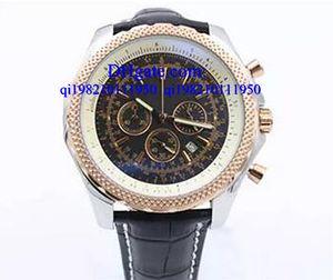 Relógios de luxo caixa Livre Mens Winding Dezel Relógio de Aço Inoxidável Mens Black Belt Relógios Swiss Mens Relógio de pulso com Calendário
