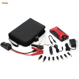 도매 탑 최고 품질 100PCS 10000mAh 원래 미니 다기능 점프 스타터 전원 은행 충전기 자동차 시작 전화 노트북 충전기