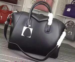2020 schwarze Tragetasche Schultertaschen aus echtem Leder Handtaschen arbeiten Umhängetasche weiblichen Business-Laptop-Taschen 2019 Geldbeutel