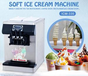 Свободная пересылка CE EMC настольный сертификат столешница Гелато мягкого мороженого машина йогурт мороженое машина для кафе, баров, ресторанов