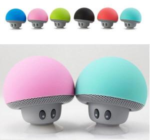 Portable Champignon Etanche Stéréo Bluetooth Haut-Parleur Sans Fil Mini Bluetooth Haut-Parleur Avec Micro pour Ordinateur de Téléphone Mobile