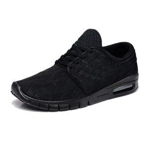2017 chegam Novas sb Sapatos Casuais de Alta Qualidade Sneaker Mulheres E Homens 685299 PRETO BRANCO QS Cinza Magenta casual SHOES 36-45 Stefan Janoski