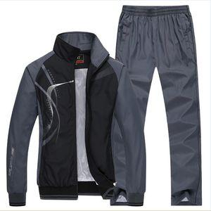 Wholesale- Herren Sportswear Man Sportanzüge Marke Tracksuits kocogas Pullover und Sweatshirts Herren Jackets + Pants 2Pcs 5xl Plus siz