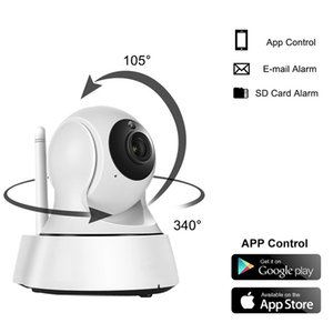 En Satıcı Ev Güvenlik Kablosuz Mini IP Kamera Gözetleme Kamerası Wifi 720P Gece Görüş CCTV Kamera Bebek Monitörü