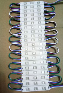 20PCS DC12V 5050 3LEDs LED-Modul 5730 5050 RGB LED Injection-Modul Licht RGB IP65 wasserdicht für