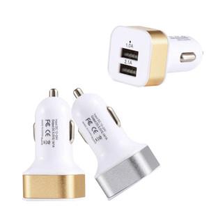 Автомобильное зарядное устройство путешествия зарядное устройство сотовый телефон зарядное устройство 2 порта USB адаптер автомобильные зарядные устройства для Android смарт-телефон зарядные устройства