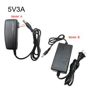 Трансформаторы освещения DC5V светодиодный источник питания AC110V-220V Импут выход DC5V трансформаторы 0.6 A 1A 2A 3A пластиковые шланги с США Plug