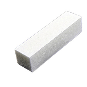 Al por mayor- 1 PC! 2017 Fashion Nail File Block Pedicure Manicure Pulido Lijado Polaco Nail Art Buffer Blanco 96x25x25mm