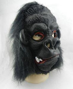 Halloween Maske Latex Maske Ohren King Kong Orang-Utan Maske Blooding Ghost Cosplay Kostüme Realistische Silikon Masken Maskerade