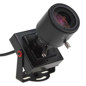 650tvl de alta resolução 2.8-12mm câmera varifocal com áudio, Manual lente varifocal câmera, 1/3 '' sony ccd mini câmera varifocal