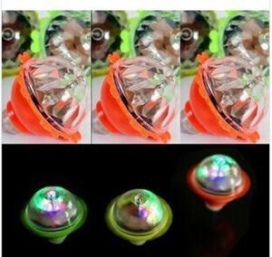 Üreticileri toptan renkli ışık yayan gyro Kristal şeffaf flaş sürtünme gyro tezgahları satan yeni garip çocuklar
