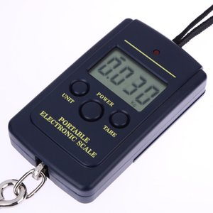 40kg / 10g Portátil Mini Electronic Balanza Digital Balanza Balanca Digital Handy Pocket Peso Hook Scale
