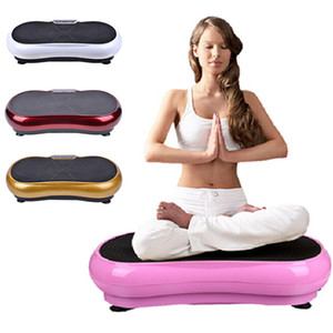 Machine d'exercice de vibration Plaque vibrante avec plaque de contrôle à distance Équipement d'exercice Équipement d'entraînement Entraîneur Machine de massage pour tout le corps Shaper