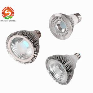 디 밍이 가능한 LED 전구 스포트 라이트 PAR38 차가운 흰색 따뜻한 화이트 색상 85-265V 25W E27 LED 조명 스팟 램프 빛을 통