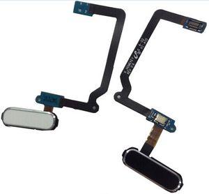 Original Nuevo Botón de Inicio de Reemplazo Clave de Menú Sensor de Huellas Dactilares Flex Cable para Samsung Galaxy S5 i9600 G900A G900V G900F Blanco Negro Dorado