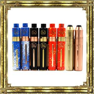 New Vaporizer TVL 기계식 TVL 콜트 45 Mod 키트 TVL 분무기 8 색 18650 배터리 전자식 담배에 적합