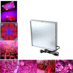 225 leds LED Hidroponik Bitki Büyümek Işık Tam Spektrum Çiçek Sebze Büyüyen Bitki Büyüme Işıkları Için LED Tavan Paneli Işıkları 15 W