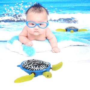 Toptan Satış - Yüzme Kaplumbağa Oyuncak Sevimli Bebek Banyo Zamanı Eğlenceli Yüzme Hayvan Havuzu Oyuncak Kaplumbağa Bebek Çocuk Hediye Klasik Oyuncaklar Soğuk Su için