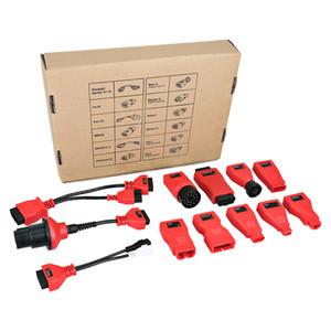 Autel DS808 ds808k Tam kit Adaptörler / Konnektörler (12 adet), 2002'den önce DS808 üzerinde çalışan araçları teşhis etmenize yardımcı olur