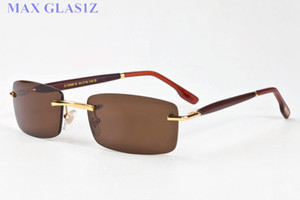 спортивные солнцезащитные очки мужчины женщины деревянные очковое стенд мужские солнцезащитные очки новой спортивной моды Coating SunGlass моды рога буйвола очки с коробкой