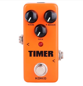 High quality KOKKO FDD2 Timer Delay Guitar Pedal de Alta Calidad Portatil Guitar Parts & Accessories free shipping