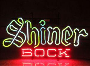 Neon Işık İşareti. LED işareti eve Yeni Shiner Bock Bira Texas El yapımı Neon Sign ampul AŞK Neon Bira İşaret Bar açtı