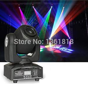 led moving head 30w 조명 DMX dj 조명 8/11 채널 dj 8 gobos 효과 무대 조명 미니 LED 이동 헤드 빠른 배송