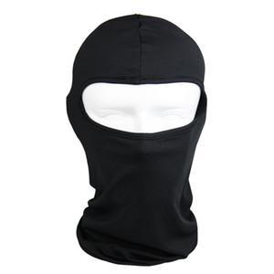Herren-Motorrad-Gesichtsmaske Baumwolle Outdoor-Motorrad-Sturzhelm Hood Ski-Sport-Ansatz-Gesichtsmaske Winddichtes Staubdichtes Schwarz