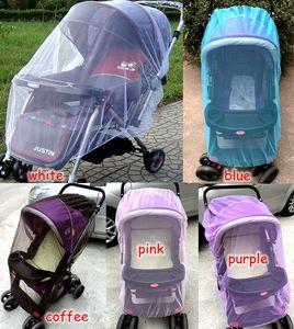 été enfants bébé poussette poussette teinturerie moustiquaire accessoires porte-moustiquaire rideau chariot soin insecte DIM: 150cm 5colors