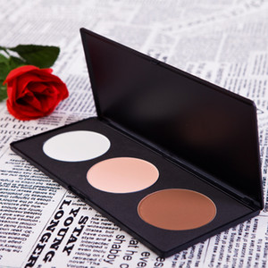Wholesale- Big Discount!Bestselling 3 Color Professional Contour Blush Cosmetic  Palette   Set