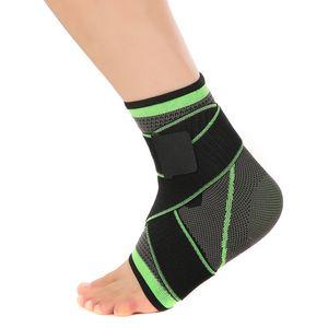 Sports Ankle Brace Suporte Elastic Ajustável Compressão Pé Protetor de Pé para Estabilizar Redução de Inchaço Acessório ao ar livre