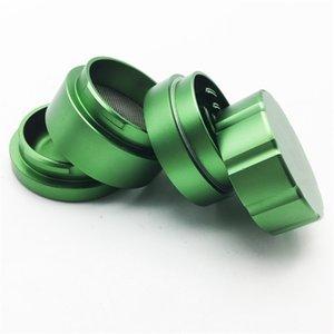 4 Capa 49mm * 56mm Amoladora Trituradora Cali Trituradora Marca de Detección de Humo Polar Bear color verde con caja de embalaje