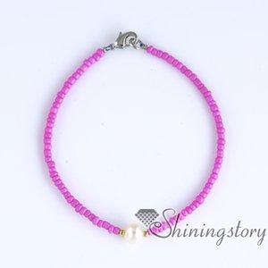 Perlenarmband echte Perle (Armband) Online Perlenschmuck zarte (Armbänder) kleine Perle Armband