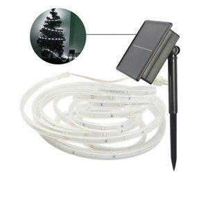 100Leds Solar-Streifen-Licht, ip67 wasserdicht 16.4ft / 5M Flexible SMD2835 LED-Band-Solarschnur-Licht für Garten, Terrasse, Werften, Landschaft