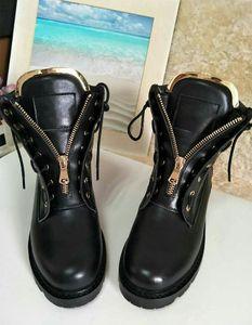 2017 Outono Inverno Laiga Ankle Boots de Couro De Veludo De Metal Zip Motocicleta Botas de Combate Botas de Mulheres de Alta Top Flats Preto Rosa Sapatos de pista
