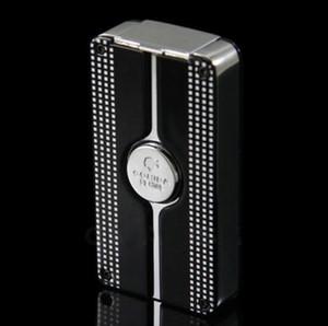 블랙 컬러 COHIBA Behike Classic 3 토치 제트 화염 Cigarette Lighter with Punch and free shipping