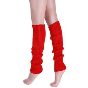 Wholesale- Best seller New Fashion Women Warm Winter Classic Leg Warmers Knitting Socks Jan18 wholesale