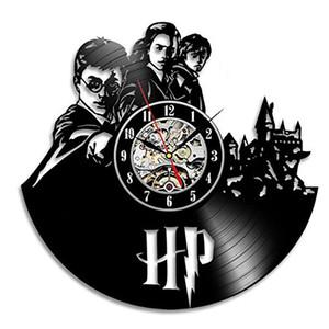 Harry Potter Hermione Vinyl Record Wall Clock - تزيين منزلك مع الفن الحديث - هدية للبالغين والفتيات والفتيان